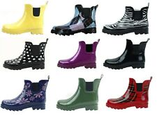 New Women's Short Ankle Rubber Rain Boots