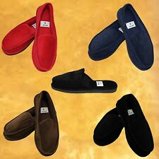 BOY'S SLIPPERS OPEN BACK & SLIP ON HOUSE SHOE SIZE 3~9 INDOOR OUTDOOR MOCCASIN