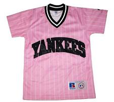 NWT New York Yankees MLB  Russell Athletic YOUTH Girls V-Neck Jersey - Small