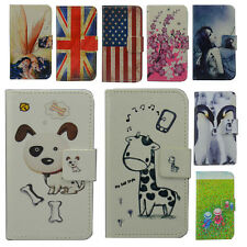 DELUXE CARTOON WALLET PU LEATHER CASE COVER FOR Microsoft Nokia Lumia