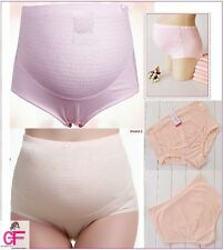 Maternity Pregnancy Knickers Briefs Underwear Over Bump Tummy Support Panties K1