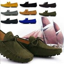 New Mens Cow Leather Casual Slip On Loafer comfort Moccasins Driving Shoes