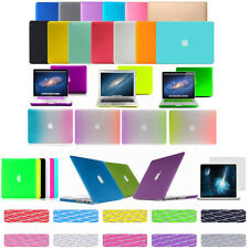 "FOR MACBOOK PRO / AIR 13"" INCH RUBBERIZED HARD MATTE PLASTIC CASE KEYBOARD COVER"