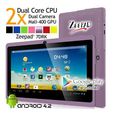 Zeepad 7DRK 4GB Flash Tablet 7Inch Touch Screen 16:9 Dual Core Cortex A9 1.6GHZ