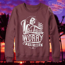 Bob Marley N'avez Worry Pour Hommes Femmes Pull Dope Supreme Taille Haute Life