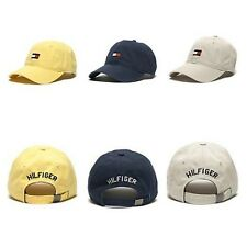 Tommy Hilfiger Large Signature Flag Unisex Cotton Baseball Cap