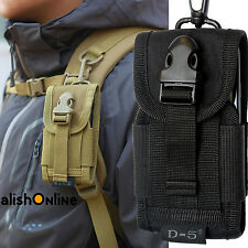 Nylon Belt Loop Hook Pouch Cover Army Kit Holster Case Bag For Mobile Phone