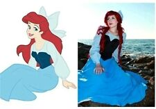 Cartoon The Little Mermaid Ariel Mermaid Princess Ariel Dress costume cosplay