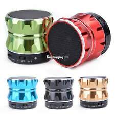 Mini Music Player Metal Bluetooth Speaker Wireless Speaker With TF card Function