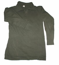 German army Base layer cotton tricot shirt roll neck top like Norwegian S-XXL