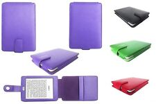 Amazon Kindle with Touch 7th Generation 2014 Genuine Leather Case Cover Jacket
