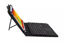 "Touch Mouse Wireless Bluetooth Keyboard Stand Case Cover For 9""- 10.1"" Tablet PC"
