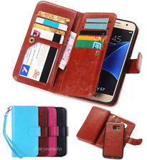 Practical Flip PU Leather Wallet Card Slot Case Cover For Samsung Galaxy S3 S4