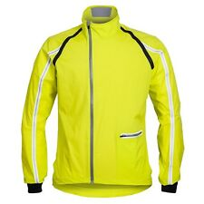 Rapha Cycling Classic Wind  Jacket Chartreuse Sizes Medium & Large BNWT  Jersey