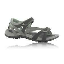 Hi-Tec Galicia Strap Womens Grey Black Outdoor Trail Walking Strap Sandals New