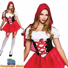 LITTLE RED RIDING HOOD STORYBOOK ADULT UK 6-20 Womens Ladies Fancy Dress Costume