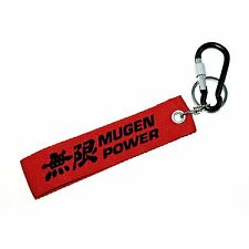 MUGEN Key Strap, Keychain Key Ring With Aluminum Carabiner D-Ring