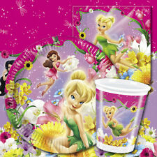 Disney Fairies TINKERBELL Girls Birthday Party Supplies Tableware Decorations