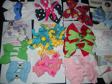 Gymboree Hair Accessories Bow Bows Clips Clip Girl age 2 3 4 5 6 7 8 NEW