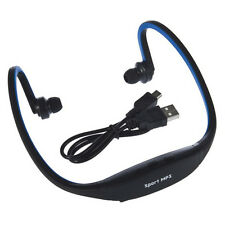 Portable Wireless Wrap USB Sport MP3 Player TF Card Headset Headphone Earphone R