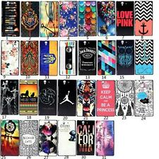 New Designs Pattern Hard PC Back Case Cover For Sony Xperia Various Models