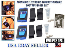 AB Gymnic Electronic Muscle Arm leg Waist Massage Belt 2 Pc Deal(Lose Pack Deal)