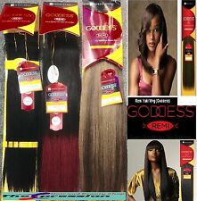SENSATIONNEL REMI GODDESS YAKI EXTENSIONS 100% HUMAN HAIR 8INCH WEAVE-AUTHORISED