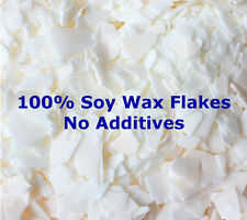100% Soy Wax Flakes Candle Making Supplies Cosmetic Grade No Additives GW  415