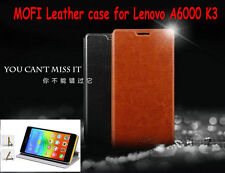 Tracking With Brand MOFI Phone Bag Flip Stand Leather Case for Lenovo A6000 K3