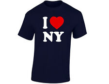 I Love New York Mens Funny T-Shirt (12 Colours)