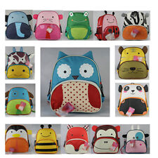 BABY Toddlers Kid Cartoon ANIMAL BACKPACK BAG/SCHOOL BAG ASSORTED For Child Gift
