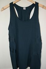 NWT GAP Fit Womens Body Athletic TOP TANK YOGA PILATE Sports Forest Green L NEW