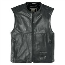 2015 Icon One Thousand Associate Leather Motorcycle Riding Street Vest