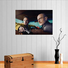 BREAKING BAD WALTER AND JESSE  WALL ART POSTER