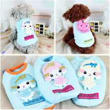 Cartoon Baby Dog Clothes Puppy Pet Dog Clothing for Small Dogs Teacup Chihuahua