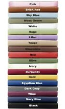 "1000 Thread Count Soft Egyptian Cotton Sheets 15""Deep Pocket 6pc Sheet Set Solid"
