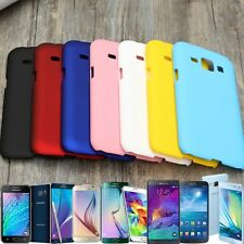 Matte Slim Thin PC Plastic Hard Snap On Back Case Cover Skin For Samsung Phone