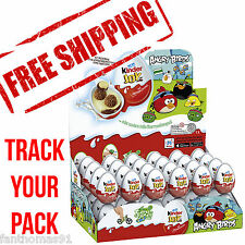 SPECIAL PRICE!!! 3x KINDER JOY ANGRY BIRDS CHOCOLATE PLASTIC EGGS TOY SURPRISE