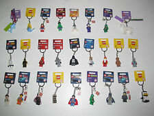 Lego ® Porte Clés Keychain Minifig Star Wars Ninjago City Movie Chima 32 Choose