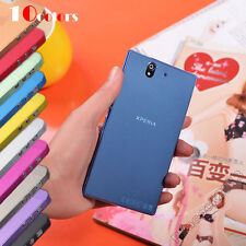 For Sony Xperia Z L36h C6603 TPU Case Ultra Slim 0.3mm Matte Scrub Translucent