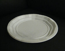 "100 Disposable White 7""or 9"" PLASTIC PLATES party ware"