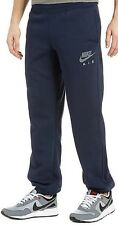 New Mens Nike Fleece Joggers Tracksuit Bottoms Track Sweat Jogging Pants Navy