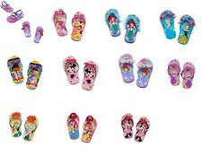 Disney Store girls princess flip flops sandals shoes U CHOOSE NWT