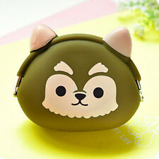 Hot Women Kids Girls Cute Cartoon Silicone Coin Purse Storage Bags Wallet Bag