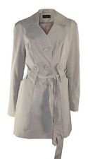 Debenhams Beige Single Breasted Belted Mac Raincoat with Two Pockets