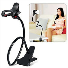 Universal Lazy Bed Desktop Car Stand Mount Holder For Cell Phone Long Arm Y2