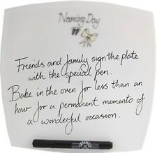 Naming Day Gift Signature Plate