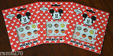 Disney MICKEY MOUSE iphone mobile phone Button Sticker 6 Designs  RARE FREE P&P