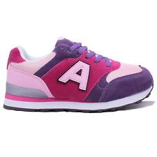 New Ladies Walking Casual Air Shock Tech Balance Gym Sport Running Trainers Size