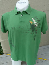 Polo Ralph Lauren Mens Indian Chief Distressed Rugby Western Tomahawk Shirt New